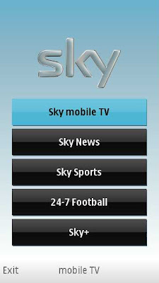 Sky Mobile TV Nokia 5800