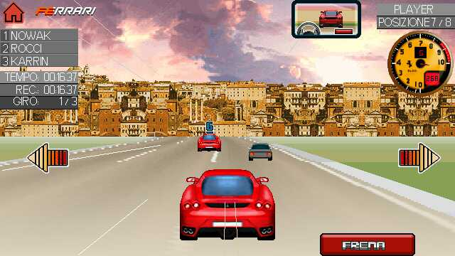 Nokia 5233 Race Games