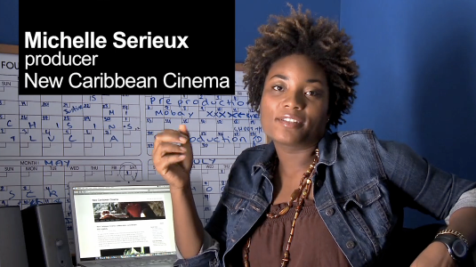St.Lucian Producer Michelle Serieux - New Caribbean Cinema
