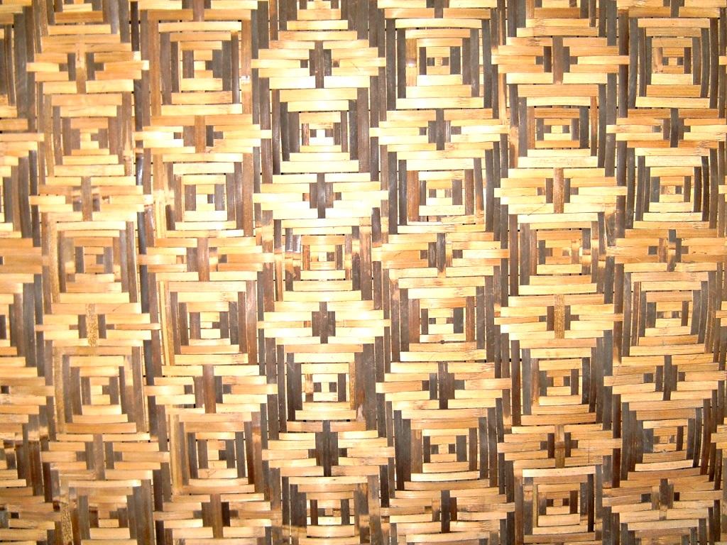 motif anyaman bambu tradisional indonesia menghadirkan berbagai motif ...