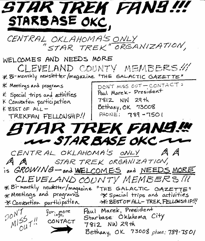 Star okc oklahoma city 39 s bygone sf fantasy club star for Portent 4 letters