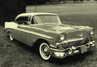 Family joke, we grew up in Belair, an old Chevy Bel Air, actually