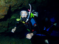 My Daughter Madison Diving Lanai's Second Cathedral