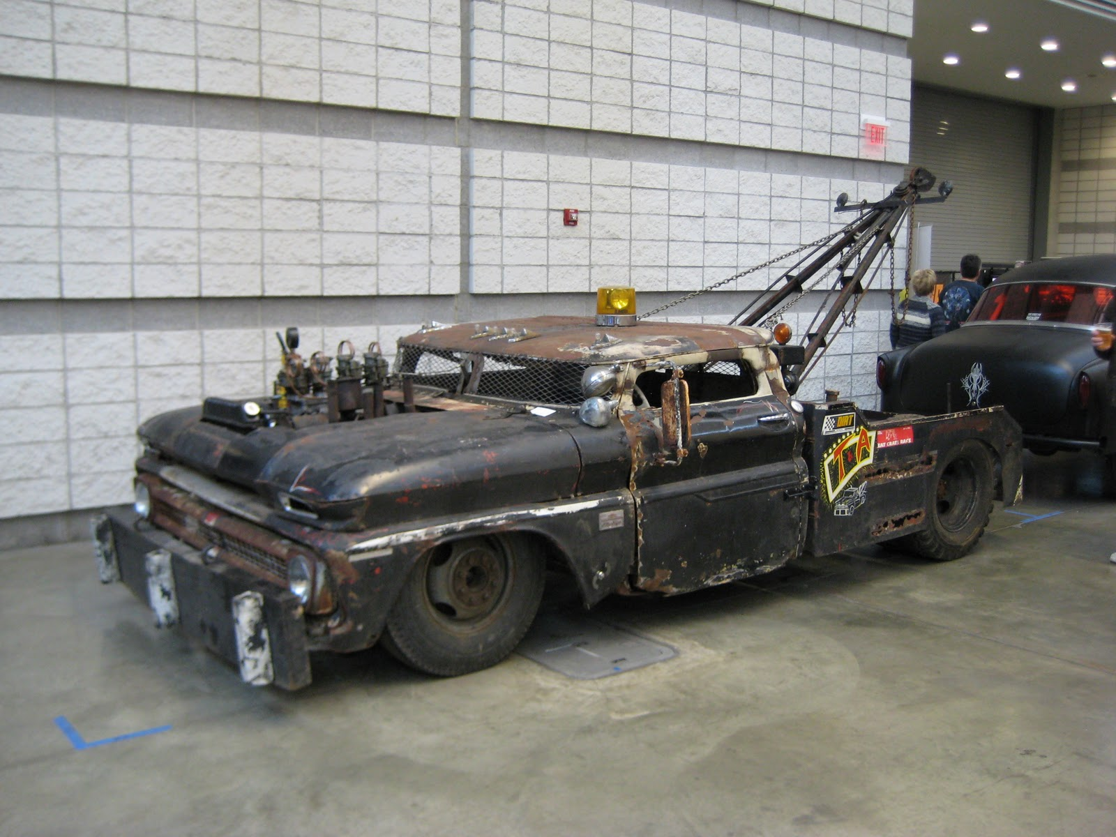 Tow Truck C-10 rat rod.