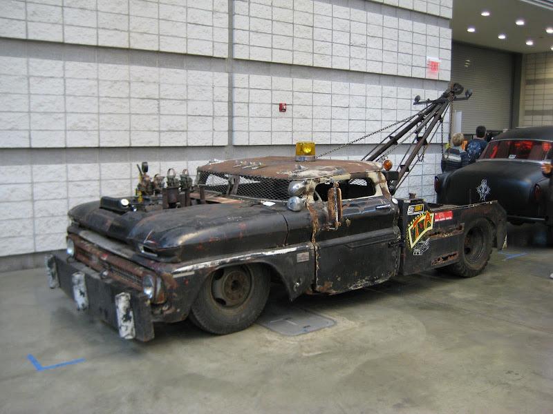 Rat Rod Truck Tattoos Tow Truck C-10 Rat Rod Title