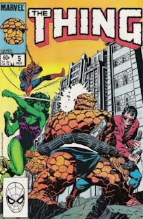 The Thing #5 - Comic of the Day