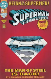 Superman: The Man of Steel #22 - Comic of the Day