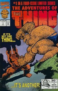 The Adventures of the Thing #1 - Comic of the Day