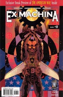 Ex Machina #17 - Comic of the Day