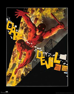 Frank Miller Daredevil Poster - Comic of the Day