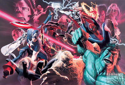 Alex Ross Marvel Poster - Comic of the Day
