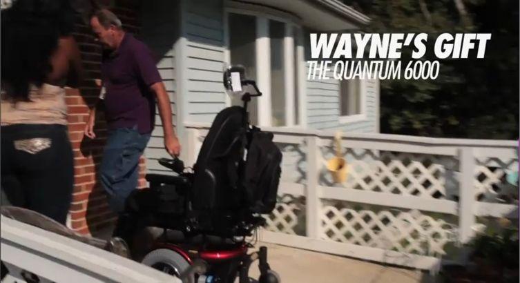 Foto da cadeira elétrica que Lil Wayne deu para a mãe de uma fã