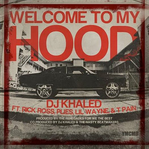Capa do Single Welcome To My Hood