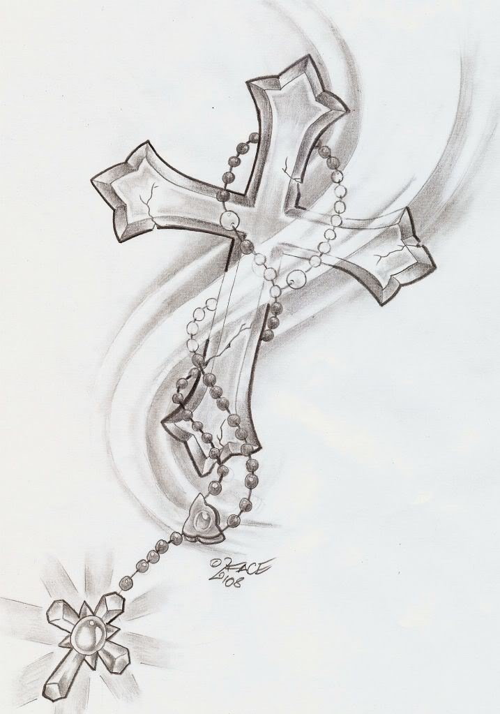 rosary bead tattoos. including way of eads the