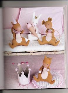 rato2 740757 Canguru, dinossauro, esquilo, formiga, jacaré, rena, alce, tudo em feltro para crianças