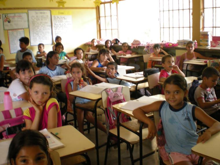 fotos na sala de aula