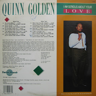 QUINN GOLDEN - i am serious about your love LP 1990 (complete 10 traks)