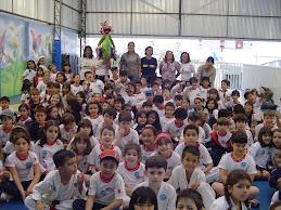 CFC, foi visitar as crianças da Rede Singular, em maio de 2009
