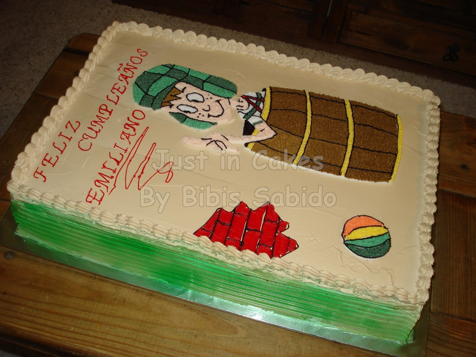 El Chavo del 8 Cake | Just in Cakes