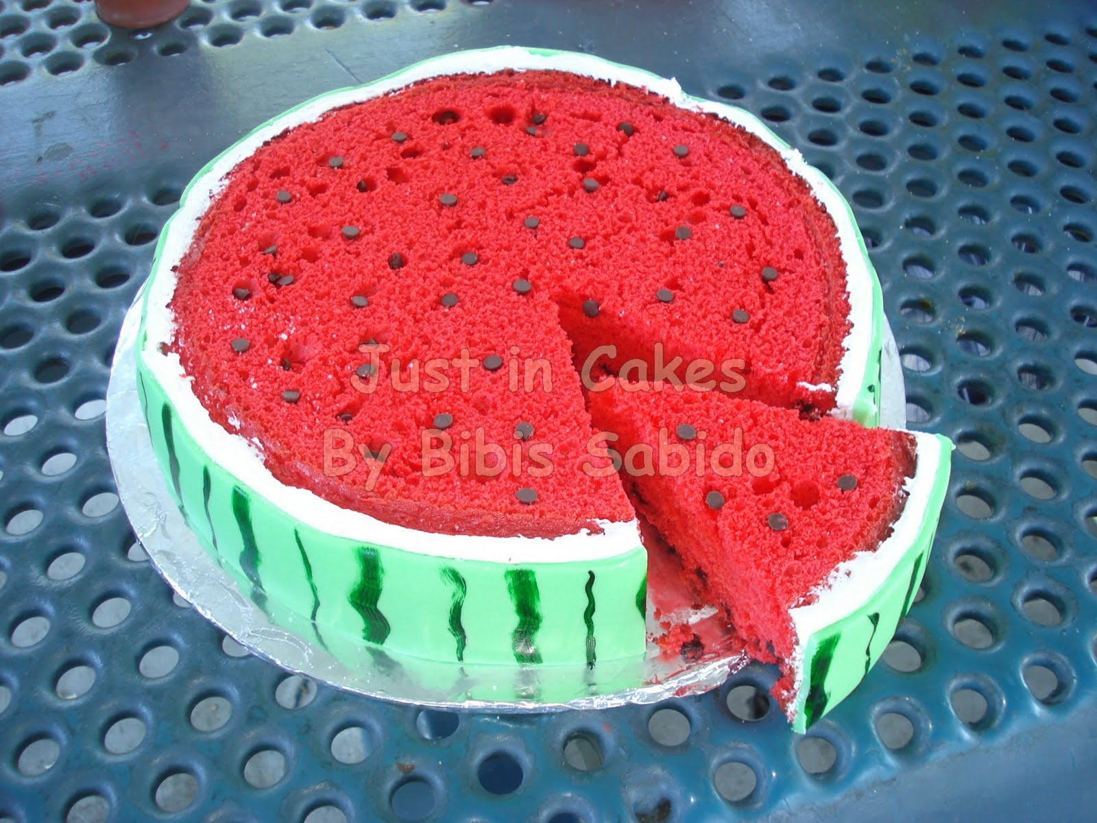 Just in Cakes: Watermelon Cake