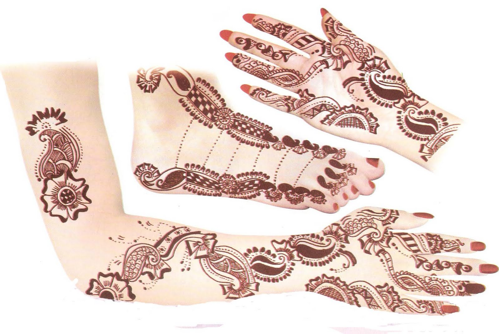 Arabic Mehendi Designs On Paper | www.imgkid.com - The ...