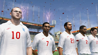 FIFA World Cup 2010 South Africa New England, Spain, Mexico team screenshots
