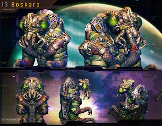Distant Worlds Alien Races