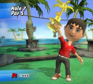 crazy golf video game