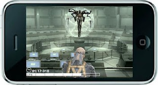 Metal gear Touch gamezplay iphone