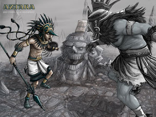 Aztec legend video game Aztaka