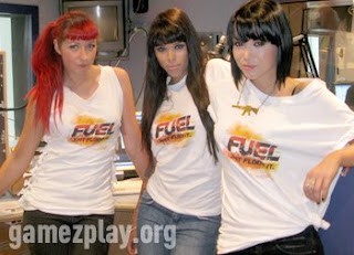 Raunchy Fuel Girls