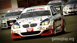 Superstars V8 Racing cars
