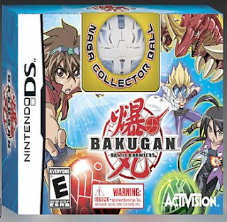 bakugan battle brawlers ds game how to get naga