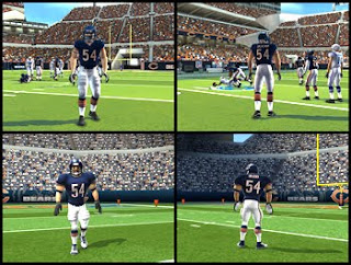 madeen nfl 10 compare wii screenshots in HD