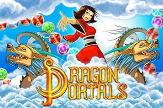 Dragon Portals video game iphone intro screen
