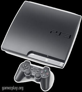 image of new playstation 3 slim with controller