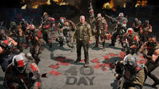 Army of Two The 40th Day crowd of soldiers with weapons drawn