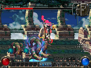 dungeon fighter side fighting screen shot