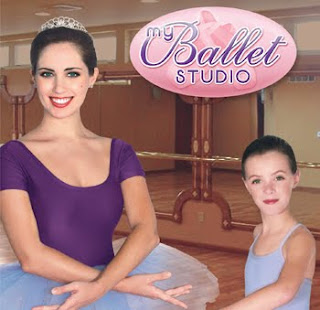 two ballet girls on nintendo wii box art