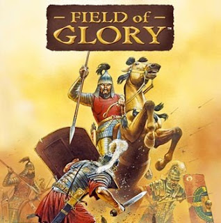 Field of Glory cover art battle scene