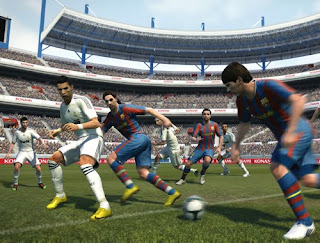 PES Pro Evolution Soccer 2011 first screenshots
