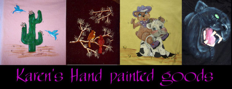 Karen's Hand Painted goods