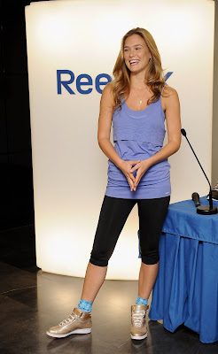 Bar Refaeli launches Reebok's Fitness Programme Jukari
