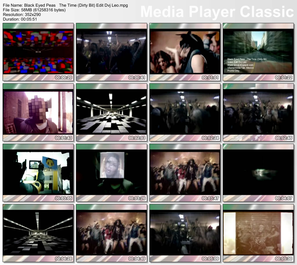 The Time Dirty Bit The Black Eyed Peas: Deejays Zone ¶ Atrevete A Salir ‼: Black Eyed Peas The