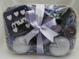 Lavender Mum Gift Basket £9.50