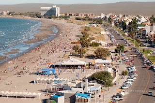 Summer Beach, Puerto Madryn  Valdes Peninsula