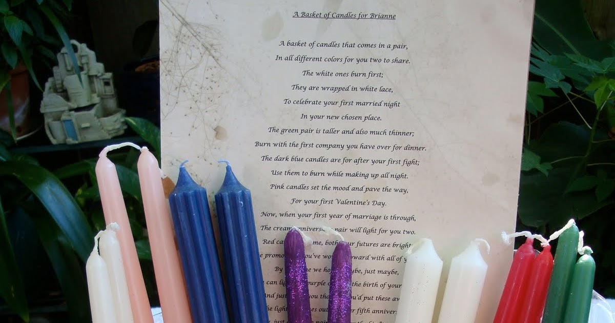Q And U Wedding Gift Ideas : Thoughtful Wedding Gifts: A Bridal Shower Gift Poem For the Bride to ...