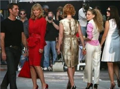 Sex and the city runway