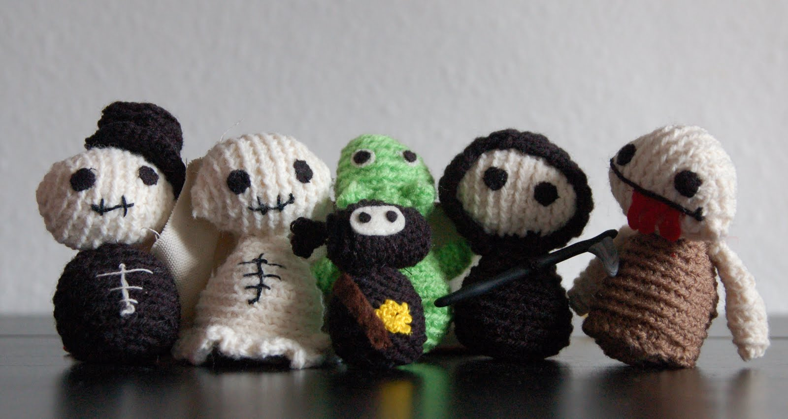 Zombies y mas a crochet
