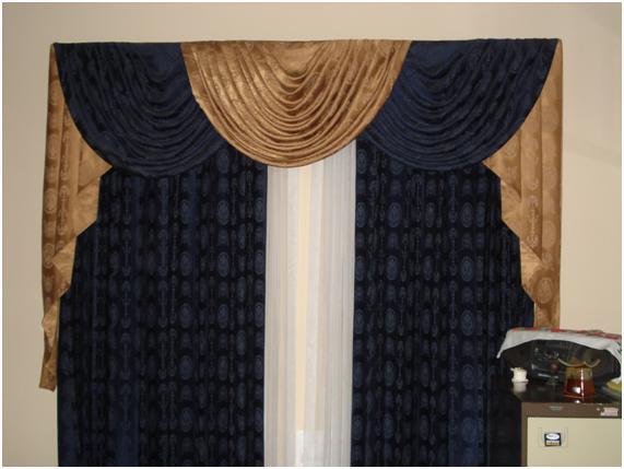 Dise os y decoraci n de cortinas y muebles los mejores for Disenos de cortinas